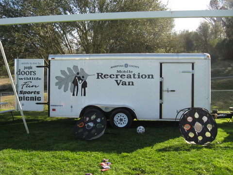 Mobile Recreation Van