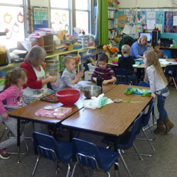 Children in a preschool classroom 3