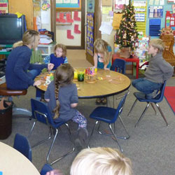 Children in a preschool classroom 2