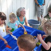 Students at Cathey's Valley Preschool