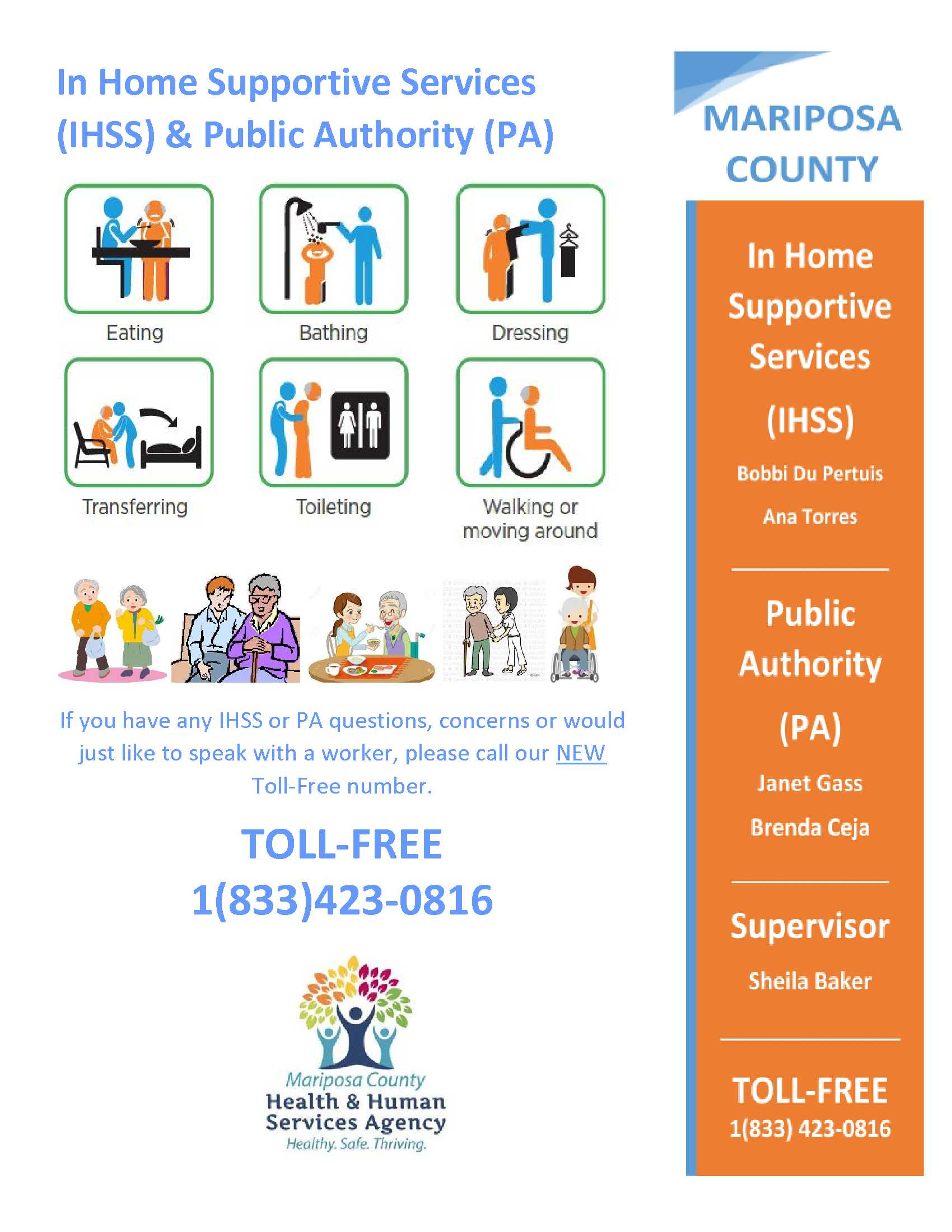 In Home Supportive Services Flyer 5.1.19