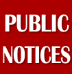 Public Notices Icon